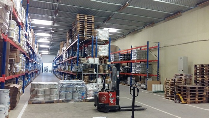 We expanded capacity of the warehouse
